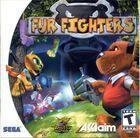 Portada oficial de de Fur Fighters para Dreamcast
