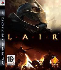 Portada oficial de Lair para PS3