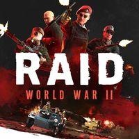 Portada oficial de RAID: World War II para PS4