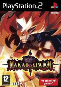 Portada oficial de Makai Kingdom: Chronicles of the Sacred Tome para PS2
