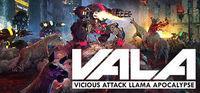 Portada oficial de Vicious Attack Llama Apocalypse para PC