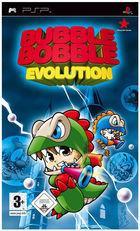 Portada oficial de de Bubble Bobble Evolution para PSP
