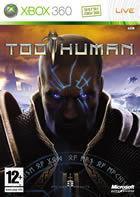 Portada oficial de de Too Human para Xbox 360