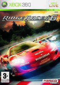 Portada oficial de Ridge Racer 6 para Xbox 360