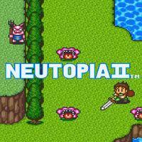 Portada oficial de Neutopia II CV para Wii U