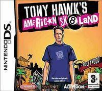Portada oficial de Tony Hawk's American Sk8land para NDS