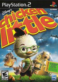 Portada oficial de Chicken Little para PS2