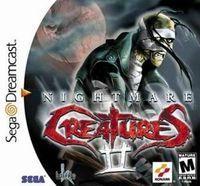 Portada oficial de Nightmare Creatures 2 para Dreamcast