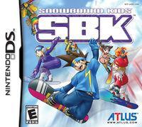 Portada oficial de SBK: Snowboard Kids DS para NDS