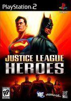 Portada oficial de de Justice League Heroes para PS2