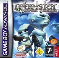 Portada oficial de Rebelstar: Tactical Command para Game Boy Advance