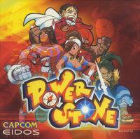 Portada oficial de Power Stone para Dreamcast