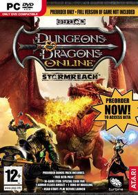 Portada oficial de Dungeons & Dragons Online: Stormreach para PC