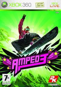 Portada oficial de Amped 3 para Xbox 360