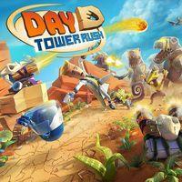 Portada oficial de Day D Tower Rush para PS4