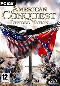 Portada oficial de American Conquest: Divided Nation para PC