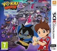 Portada oficial de Yo-Kai Watch 2: Mentespectros para Nintendo 3DS