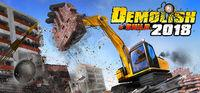 Portada oficial de Demolish & Build 2018 para PC