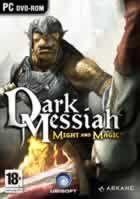 Portada oficial de de Dark Messiah of Might & Magic para PC