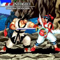 Portada oficial de NeoGeo Samurai Shodown para Switch