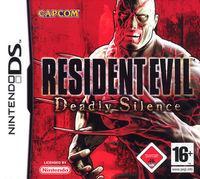 Portada oficial de Resident Evil Deadly Silence para NDS