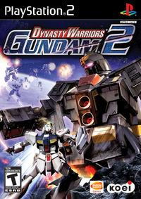Portada oficial de Dynasty Warriors: Gundam 2 para PS2