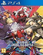 Portada oficial de de BlazBlue: Cross Tag Battle para PS4