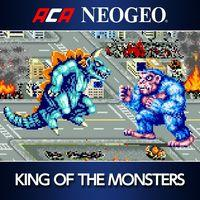 Portada oficial de NEOGEO King of the Monsters para PS4