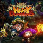 Portada oficial de de Happy Dungeons para PS4