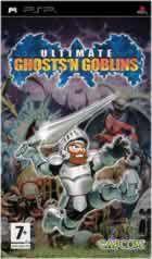 Portada oficial de de Ultimate Ghosts 'n' Goblins para PSP