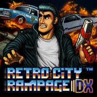 Portada oficial de Retro City Rampage DX para Switch
