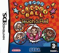 Portada oficial de Super Monkey Ball: Touch & Roll para NDS