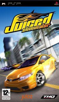 Portada oficial de Juiced: Eliminator para PSP