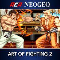 Portada oficial de NeoGeo Art of Fighting 2 para PS4