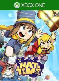 Portada oficial de A Hat in Time para Xbox One