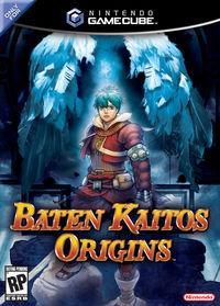 Portada oficial de Baten Kaitos Origins para GameCube