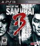 Portada oficial de de Way of the Samurai 3 para PS3
