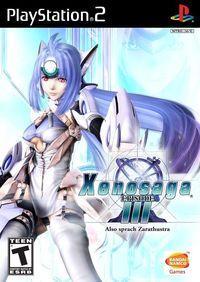 Portada oficial de Xenosaga Episode 3 para PS2