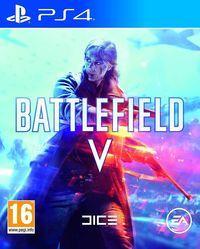 Portada oficial de Battlefield 5 para PS4