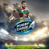 Portada oficial de Rugby League Live 4 para PS4