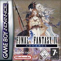 Portada oficial de Final Fantasy IV para Game Boy Advance