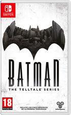 Portada oficial de de Batman: The Telltale Series para Switch