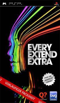 Portada oficial de Every Extend Extra para PSP