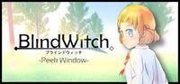 Portada oficial de Blind Witch -Peek Window- para PC