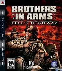Portada oficial de Brothers in Arms: Hell's Highway para PS3