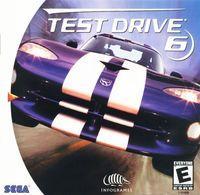 Portada oficial de Test Drive 6 para Dreamcast