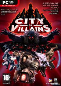 Portada oficial de City Of Villains para PC