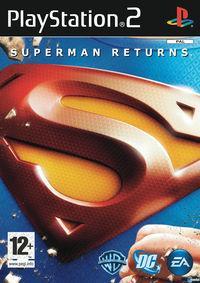 Portada oficial de Superman Returns para PS2