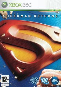 Portada oficial de Superman Returns para Xbox 360