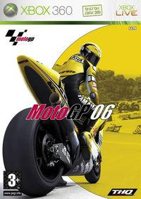 Portada oficial de MotoGP 2006 para Xbox 360
